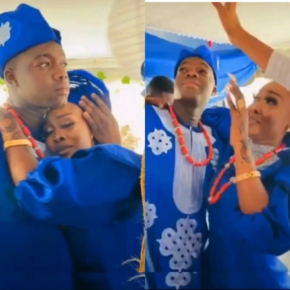 Instagram comedian, Cute Abiola, ties the knot with his girlfriend (photos)