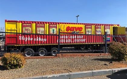 Shoprite Trucks Converted To Mobile Stores Following SA Unrest (Pictures)